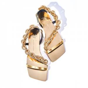 "Giuseppe Zanotti Women's Flat Sandals ""Agata"""