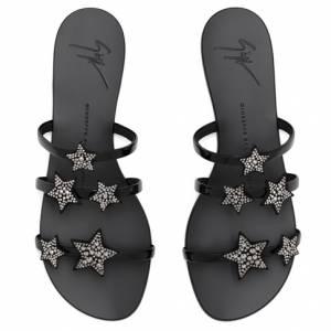"""Giuseppe Zanotti Women's Sandals """"ANYA STAR"""" Flats"""