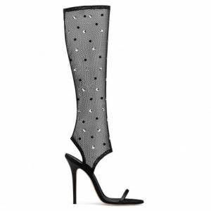 """Giuseppe Zanotti Women's Sandals """"AGNES HIGH"""" Boots"""