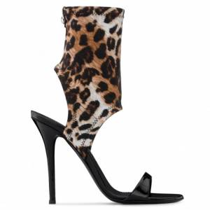 "Giuseppe Zanotti Women's Sandals ""AGNES"" Leopard"