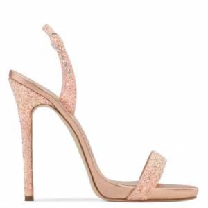 Giuseppe Zanotti Women Sandals SOPHIE GLITTER Pink