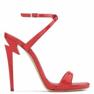 Giuseppe Zanotti Women's Sandals G-HEEL Red
