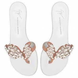 Giuseppe Zanotti Flat Sandals CRUEL SPARKLE