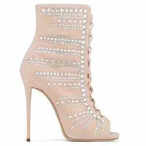 Giuseppe Zanotti KAYLEE Crystals Heel Boots