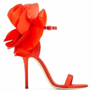 "Giuseppe Zanotti Sandals ""Red Peony"""