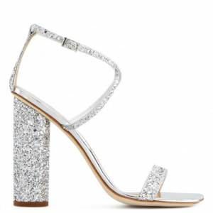 "Giuseppe Zanotti Sandals ""Tara Glitter"""