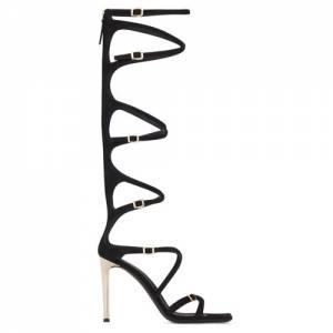 """Giuseppe Zanotti Heel Tall Sandals """"Vanilla Punk"""""""