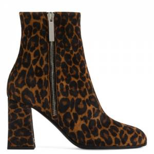"Giuseppe Zanotti Women's Boots ""Leopard Sveva"""