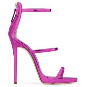Giuseppe Zanotti Women Sandals HARMONY Fuxia Patent
