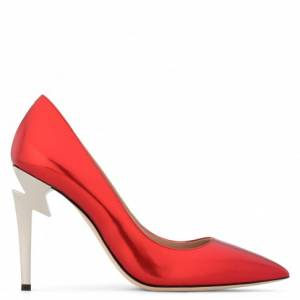 "Giuseppe Zanotti Pumps ""G-HEEL"" Red Women's Shoes"
