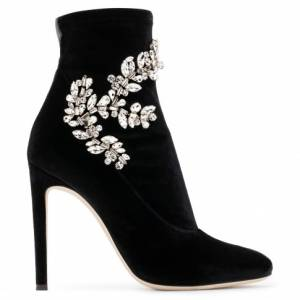 "Giuseppe Zanotti Boots ""CELESTE CRYSTAL"" Women's Luxury Shoes"