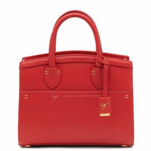 Giuseppe Zanotti Totes - ANGELINA - Women's Red Bag
