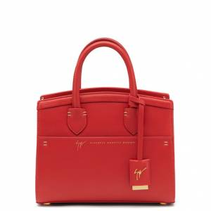 Giuseppe Zanotti Totes - ANGELINA SMALL - Women's Red Bag