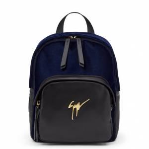 Giuseppe Zanotti Backpacks KATY Dark Blue