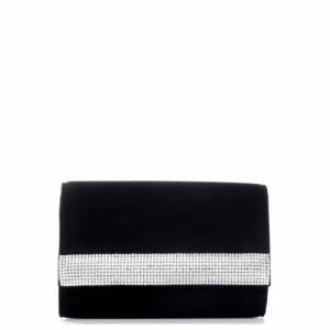 Giuseppe Zanotti Clutches DESIRE' Black With Swarovski Bag