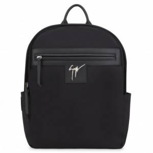 Giuseppe Zanotti Backpacks BARON Black