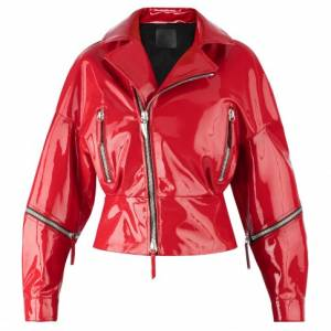 "Giuseppe Zanotti Women's Leather Jacket ""AUTUMN"""
