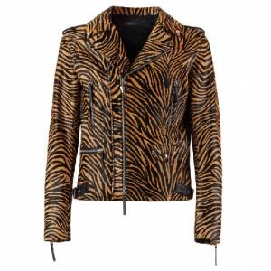 "Giuseppe Zanotti Men's Jacket ""Tiger Pony Khan"""
