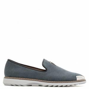 Giuseppe Zanotti Loafers CEDRIC Grey Slipon Men's Shoes