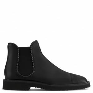 Giuseppe Zanotti Boots JAKY Brown Leather Men's Shoes