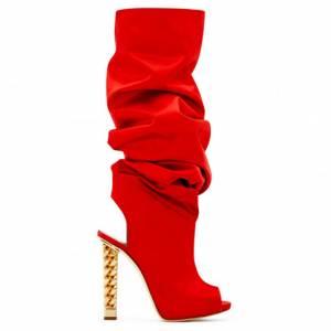 "Giuseppe Zanotti Boots ""Red Elinor"""