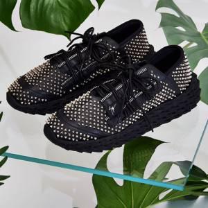 "Giuseppe Zanotti Men's Sneakers ""Studded Urchin"""