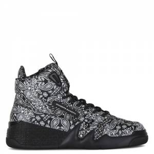 "Giuseppe Zanotti Men's Sneakers ""Bandana High-Top Talon"""
