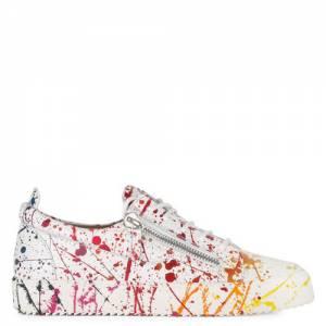"""Giuseppe Zanotti Men's Low-Top Sneakers """"Frankie Artist"""""""