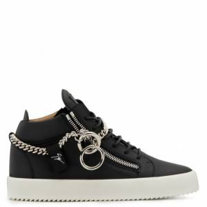 "Giuseppe Zanotti Sneakers ""Chain"" Mid Tops"
