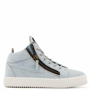 "Giuseppe Zanotti Sneakers ""Blue Kriss"" Mid-Tops"