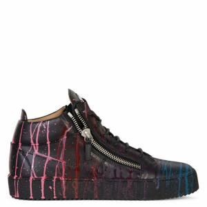 "Giuseppe Zanotti Men's Low-Top Sneakers ""Painter Kriss"""