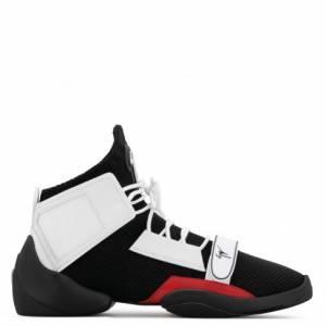 "Giuseppe Zanotti Men's Sneakers ""LIGHT JUMP MT1"" Mid-Tops"