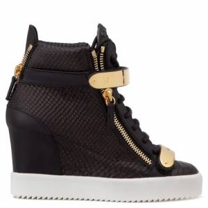 "Giuseppe Zanotti Women's Sneakers ""JENNIFER"" Wedges"