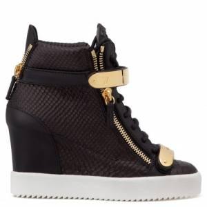 """Giuseppe Zanotti Women's Sneakers """"JENNIFER"""" Wedges"""