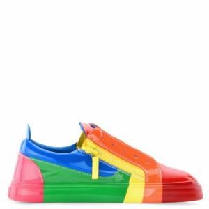 "Giuseppe Zanotti Women's Sneakers ""RNBW"" Rainbow"