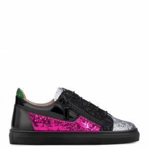 Giuseppe Zanotti - GAIL JR. - Multicolor Glitter Teen's Sneaker