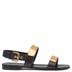 "Giuseppe Zanotti Men's Sandals ""Golden Zak"""