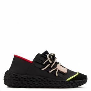 "Giuseppe Zanotti Sneakers ""Urchin"" Black Low Tops"