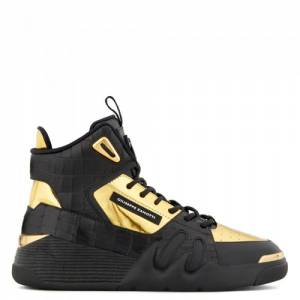 "Giuseppe Zanotti Men's Sneakers ""Golden Talon"""