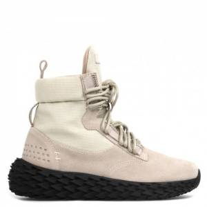 "Giuseppe Zanotti Women's Sneakers ""Grey High-Top Urchin"""