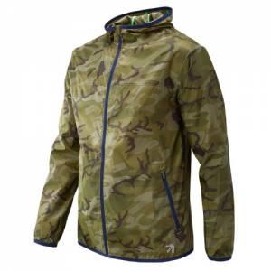 New Balance Men's J.Crew Windcheater Colorblock Jacket - (JMJ73261)