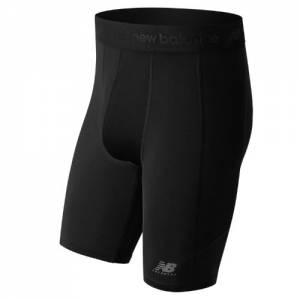 New Balance Men's Lacrosse Compression Shorts with Cup - (TMMS751)