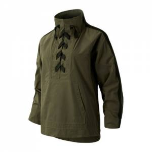 New Balance 03159 Women's Determination Academy Anorak - Green (WJ03159NTG)
