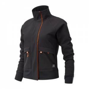 New Balance 03252 Women's Impact Run Winter Jacket - Black (WJ03252BK)