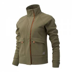 New Balance 03252 Women's Impact Run Winter Jacket - Green (WJ03252NTG)