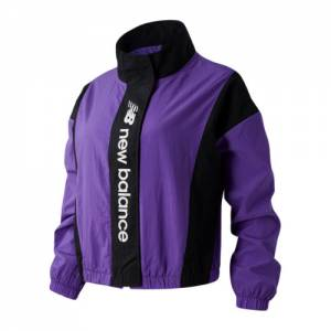 New Balance 03511 Women's Sport Style Optiks Jacket - Purple (WJ03511MVT)