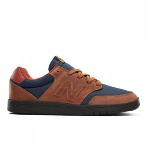 New Balance All Coasts 425 Men's Lifestyle Shoes - Brown / Navy (AM425RAN)