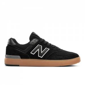 New Balance All Coasts 574 Men's Lifestyle Shoes - Black (AM574BGU)