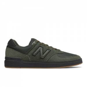 New Balance All Coasts 574 Men's Shoes - Dark Green (AM574BOV)