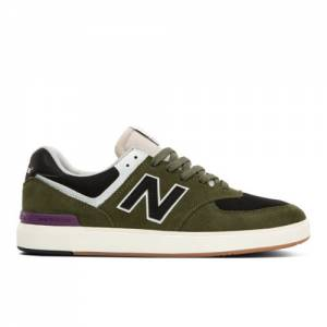 New Balance All Coasts 574 Men's Court Classics Shoes - Green (AM574HOS)